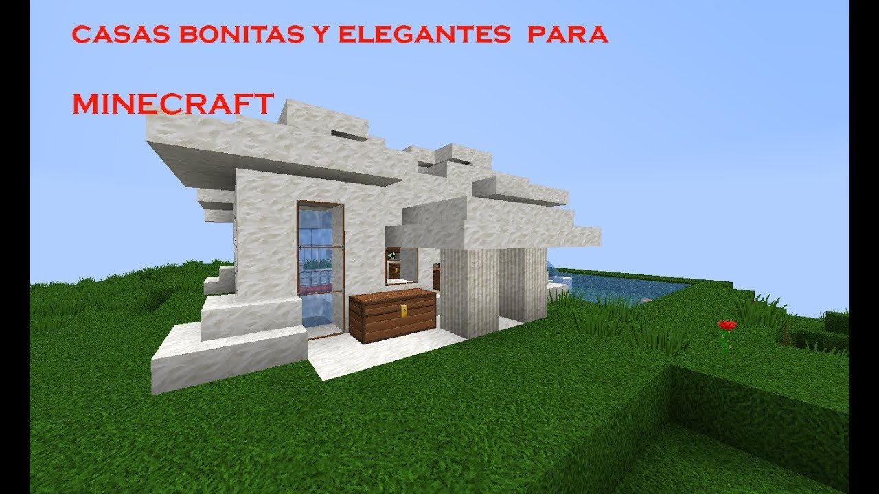 Casas modernas para minecraft youtube for Casas modernas 6 minecraft
