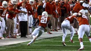 Sights and sounds: Football vs. Texas Tech [Nov. 28, 2013]