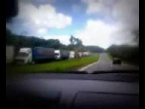 Acidente na Rodovia Régis Bittencourt (Barra do Turvo)