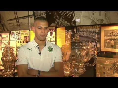 مقابلة مع الجزائري اسلام سليماني نجم هجوم سبورتينغ لشبونة Islam Slimani