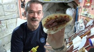 Astronaut Chris Hadfield and Chef Traci Des Jardins Make a Space Burrito