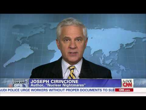 Joe Cirincione on CNN Fareed Zakaria to talk Iran