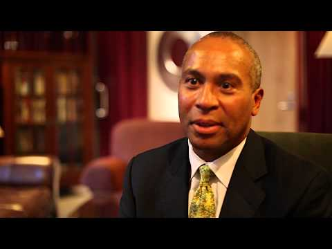 3 with IOP: Massachusetts Governor Deval Patrick