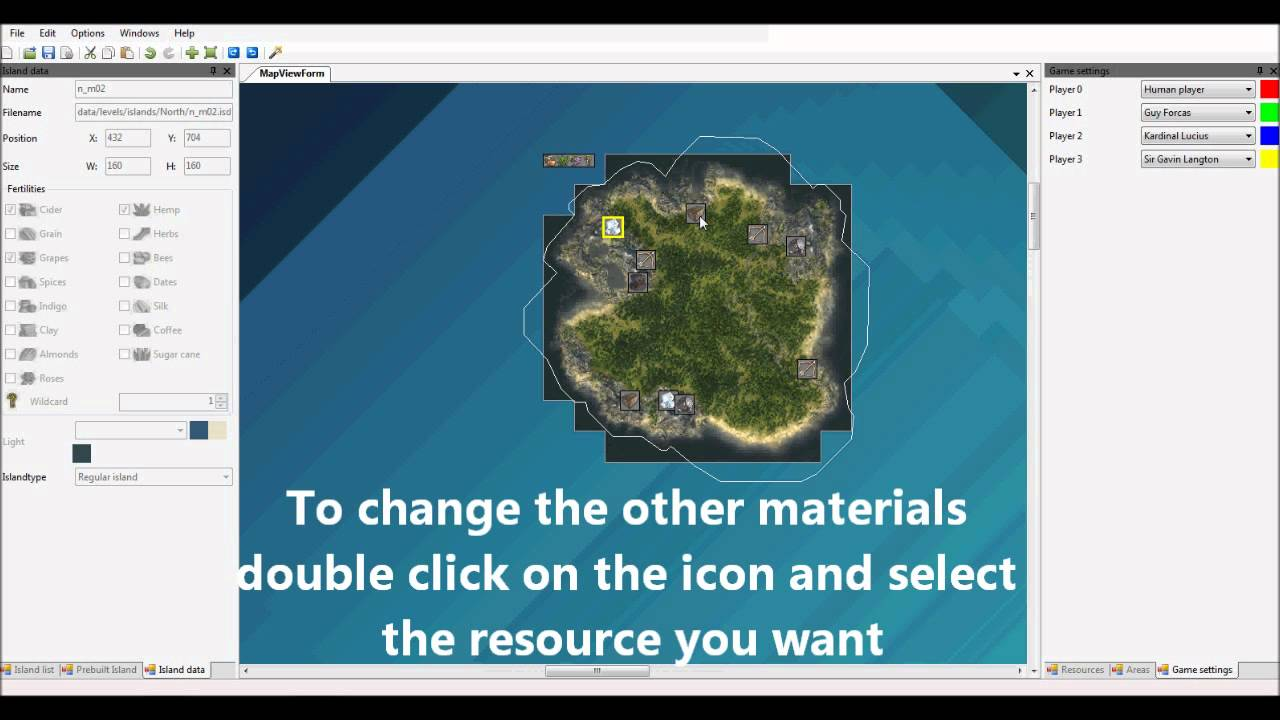 Anno 1404 World Editor Tutorial Creating a map HD YouTube