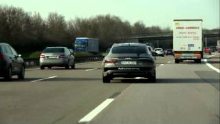 Aut�nomo Audi A7 � apresentado em evento na Alemanha