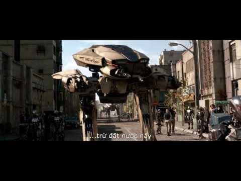 Robocop - Cảnh Sát Người Máy - Trailer #2