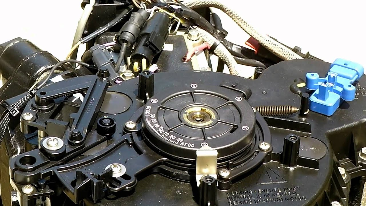 how to  replacing the optical sensor on a johnson