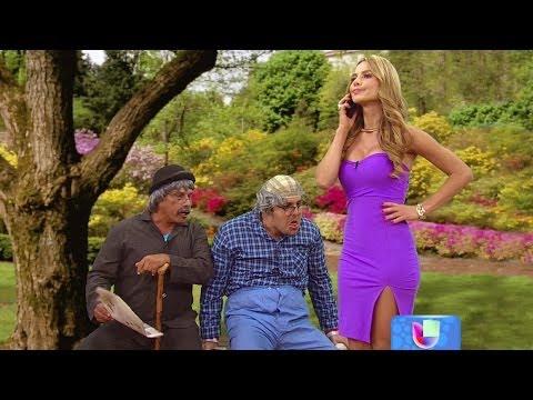 Los Viejitos se alborotaron con Ximena Córdoba