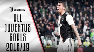 All Juventus goals 2018/19!