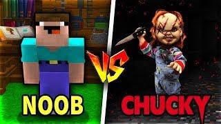 THỬ THÁCH Troll NOOB Bằng CHUCKY BÚP BÊ MA QUÁI Trong Minecraft!!