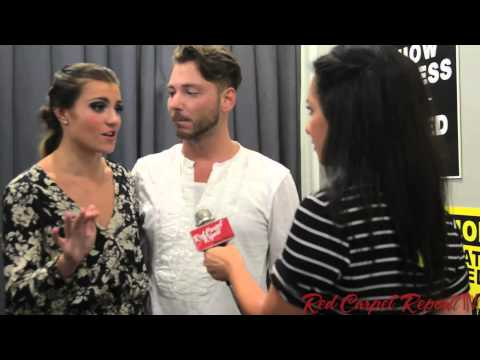 Carly Blaney & Serge Onik backstage interview #SYTYCD 7/9/2014 @Dance11Carly @sergeonik