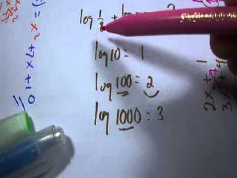 Menghitung logaritma cepat dasar - matematika sma