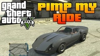 GTA V Pimp My Ride #48 Stinger GT (Ferrari Dino