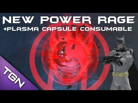 DCUO - New Power RAGE 100% + New Consumable Plasma Capsule Gameplay