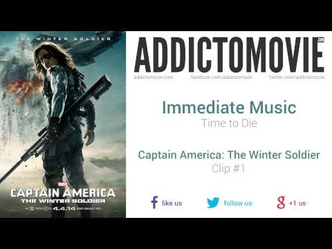 Captain America: The Winter Soldier - Clip #1 Music #1 (Immediate Music - Time to Die)