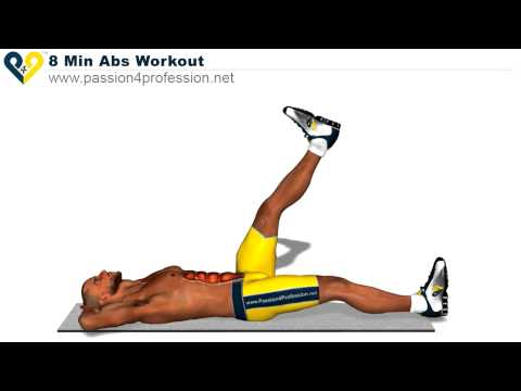 8 Min Abs Workout, how to have six pack (HD Version) -f9XrV_YlyPs