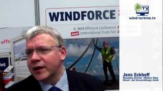 Jens Eckhoff zur Offshore Windmesse in Bremen - YouTube