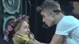 Justin Bieber - One Less Lonely Girl - Izod Center 11-09-12 HD