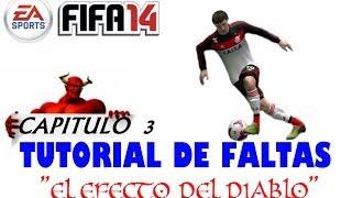 Fifa 2014. Tutorial de faltas 3