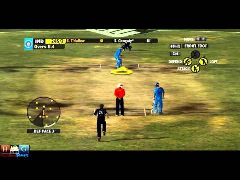 Ashes Cricket™ 2009 : India v/s New Zealand - 25 over ODI match Tournament (Episode #3)