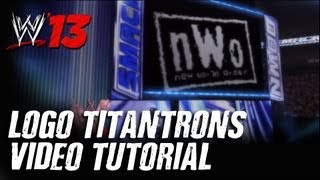 WWE '13: How To Create Logo Titantrons (Tutorial)