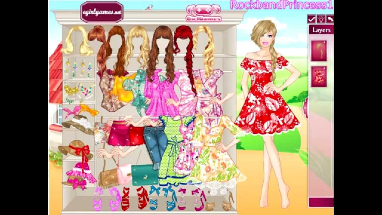 play new barbie dress up games free online 2014