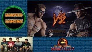 Warped Gaming - Mortal Kombat Drunktality Part 1 (Single Player)