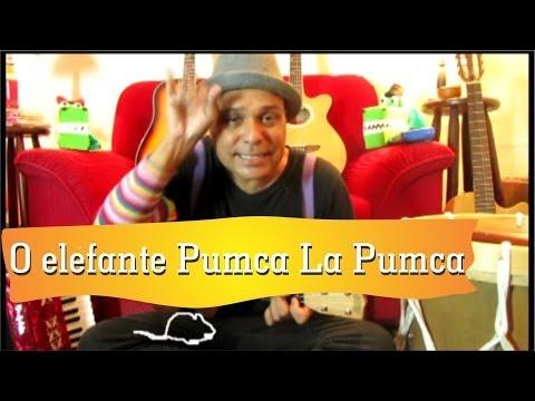 Historinha musical: O elefante Pumca La Pumca - Turminha do Tio Marcelo
