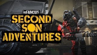 InFAMOUS: Second Son Adventures Big Man, Big Gun