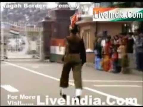 Wagah Border Ceremony Live