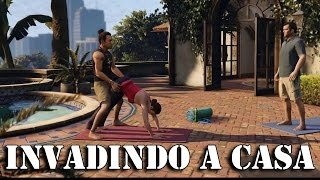 GTA 5: Invadindo A Casa Do Michael PT-BR #02