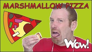 Perfect Marshmallow Pizza Story from Steve and Maggie NEW | Food for Kids Stories | Wow English TV