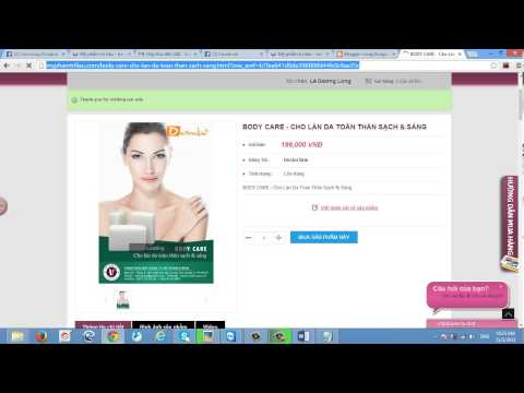 phan 1 huong dan lay link affiliate va chen link affiliate vao website