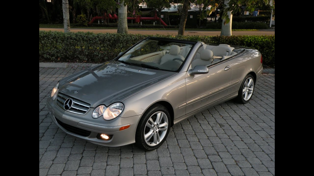Mercedes clk350 convertible for sale auto haus of fort for Mercedes benz ft myers