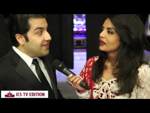 Huma Khan for JCS TV  Rahat Fateh Ali Khan Concert Toronto 2013 PART 1 2