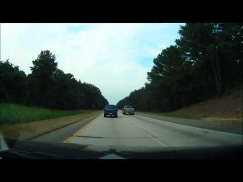 Edisto Island to Massachusetts up I-95 time lapse 2013