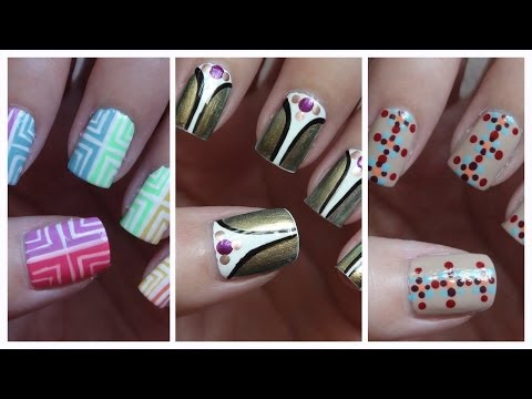 Easy Nail Art For Beginners!!! #10