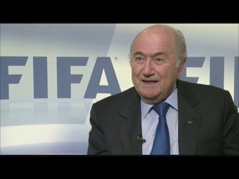Blatter on World Cup play-offs [AMBIENT]