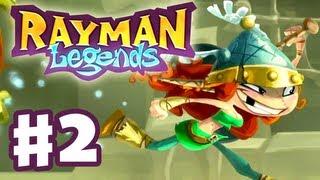 Rayman Legends Gameplay Walkthrough Part 2 Rescue