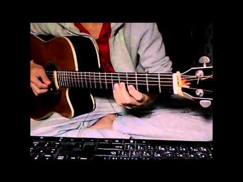 Tab Cơn mưa ngang qua - Tùng Acoustic Intro cover by Sinh viên Lào