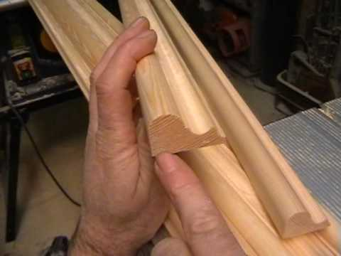 Diy Making A Door Part 5 Timber Mouldings Cut With Basic