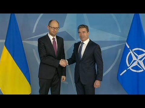 NATO, Ukraine discuss 'grave European security threat'