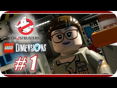 LEGO Dimensions [Año 2] Story Pack Ghostbusters - Capitulo 1 - Inicio Paranormal