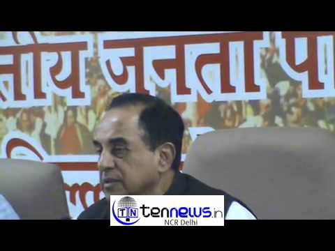 SUBRAMANIAN SWAMY HAS CALLED ARVIND KEJRIWAL AND MANISH SISODIA AS CONGRESS AGENT