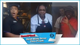 [Halloween Dead Body Drive Thru Prank - HaanZFilmZ] Video