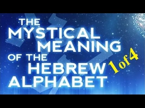 spiritual meaning of the hebrew alphabet pdf