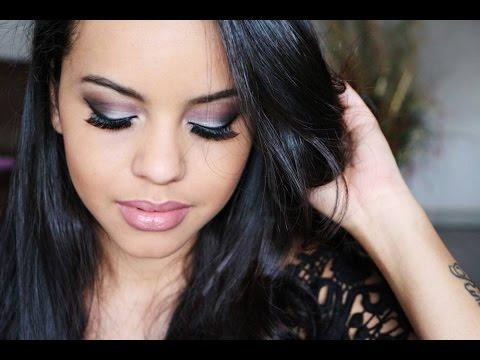 Maquiagem para morenas - Balada