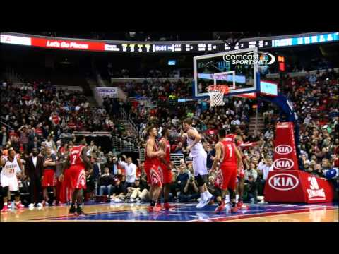 Spencer Hawes Seals the Win with the MONSTER Putback Slam