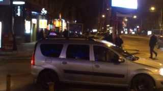Ilegalități în centrul capitalei sub ochii poliției municipale