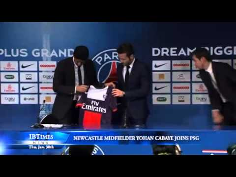 Newcastle Midfielder Yohan Cabaye Joins PSG